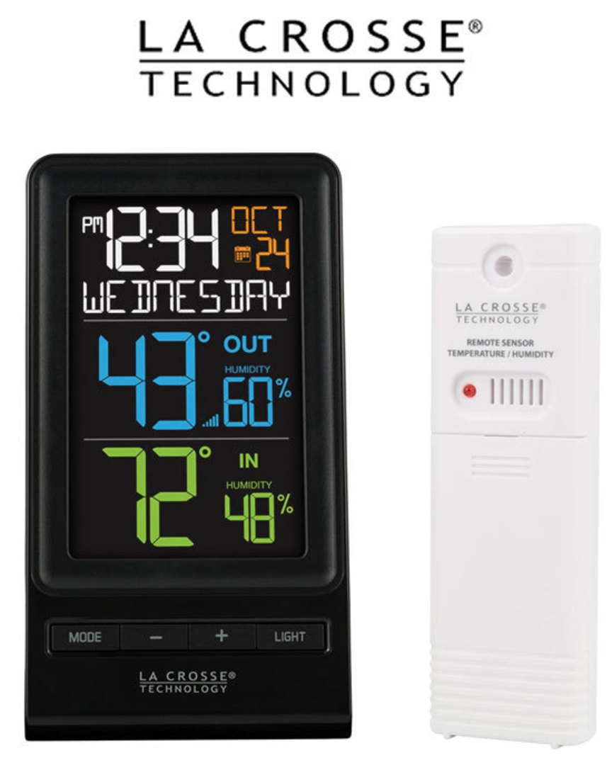 La Crosse 308-1415TH and 308-1409TH Wireless Weather Station Combo image 2