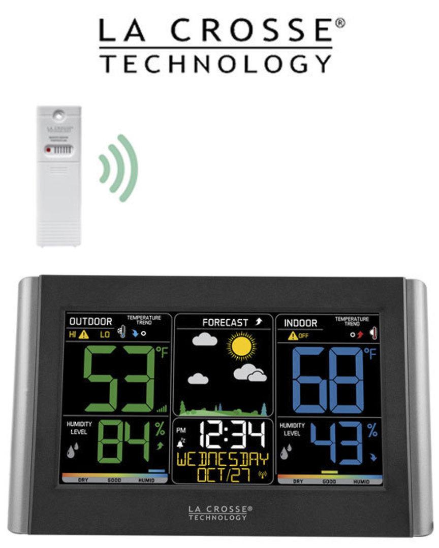 C85845V3-INT Wireless Color Weather Station image 0
