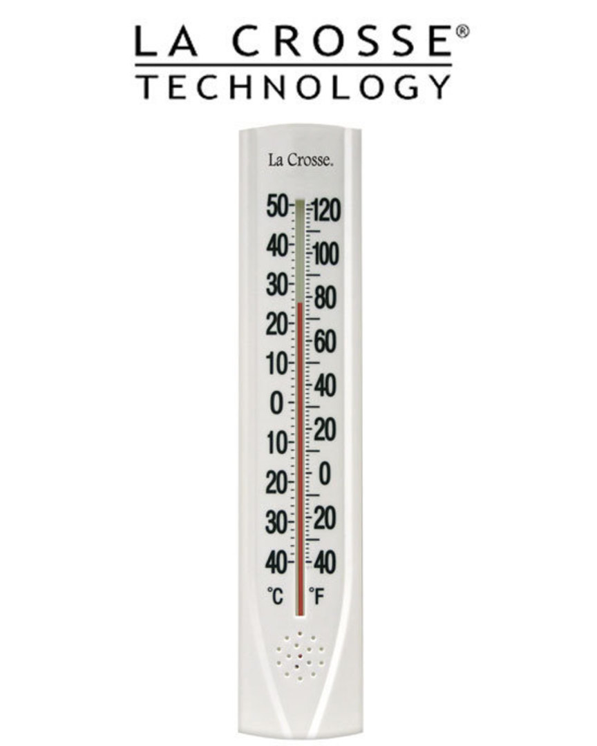 204-115 15-inch (38cm) Thermometer with Key Hider image 0