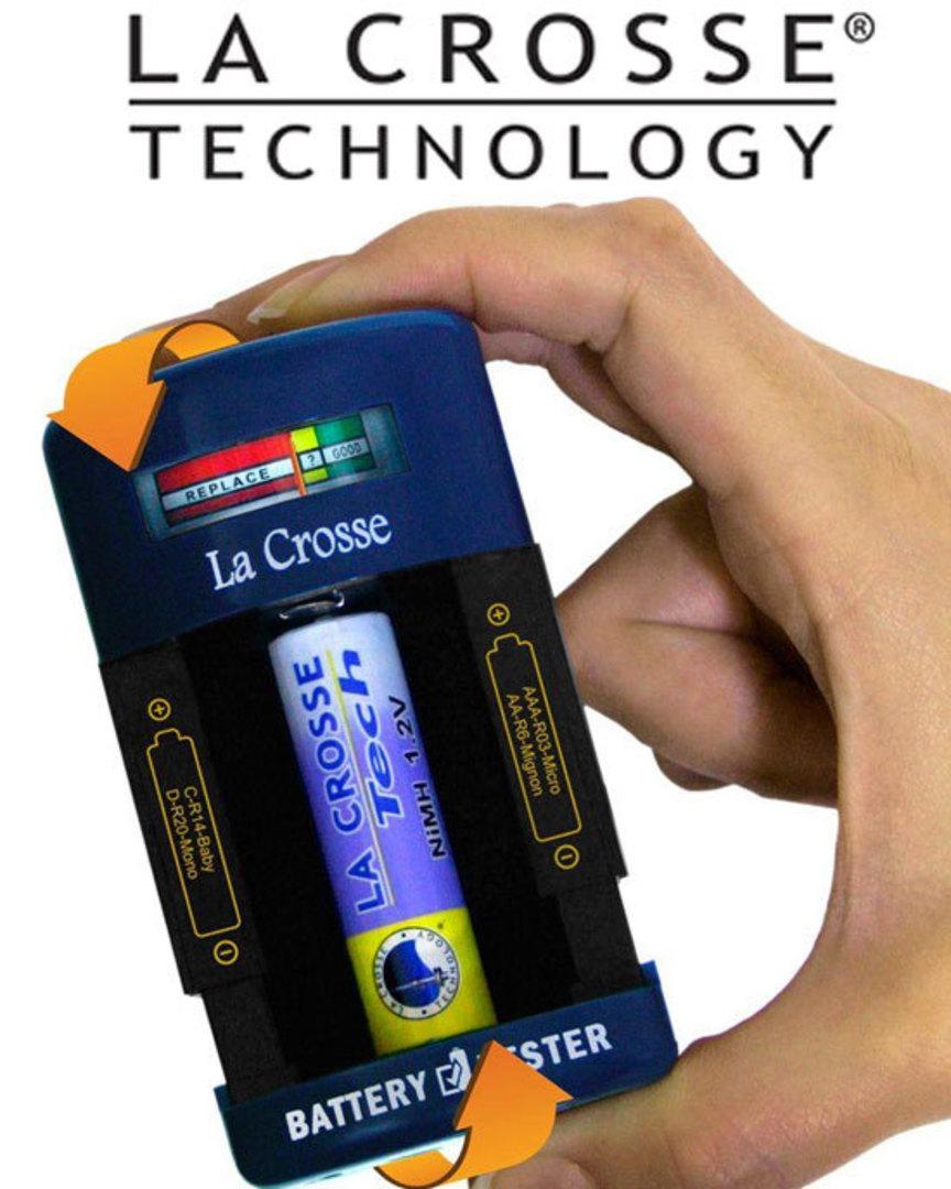 911-114 La Crosse Portable Battery Tester image 0