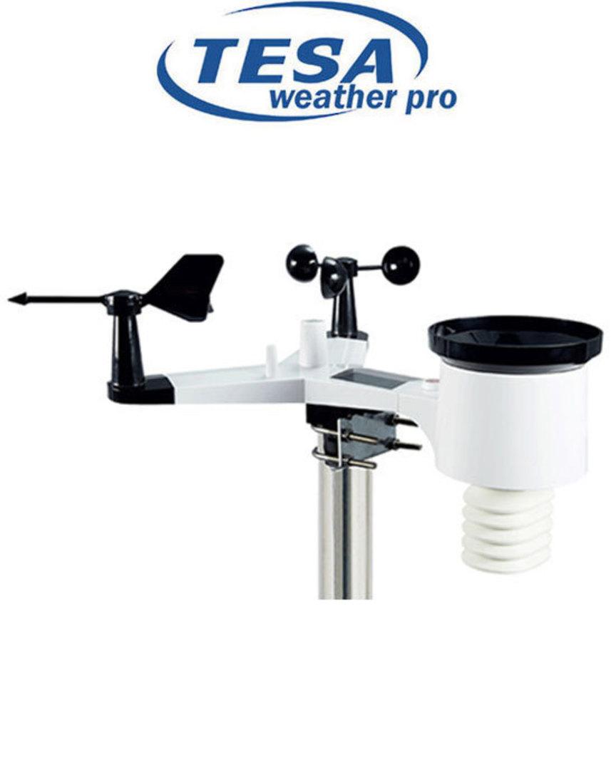 WS2980C-PRO TESA Professional WIFI Colour Weather Station image 2
