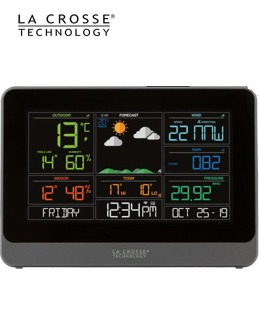 V30V2 Complete Personal WIFI Weather Station with ACCUWEATHER image 1