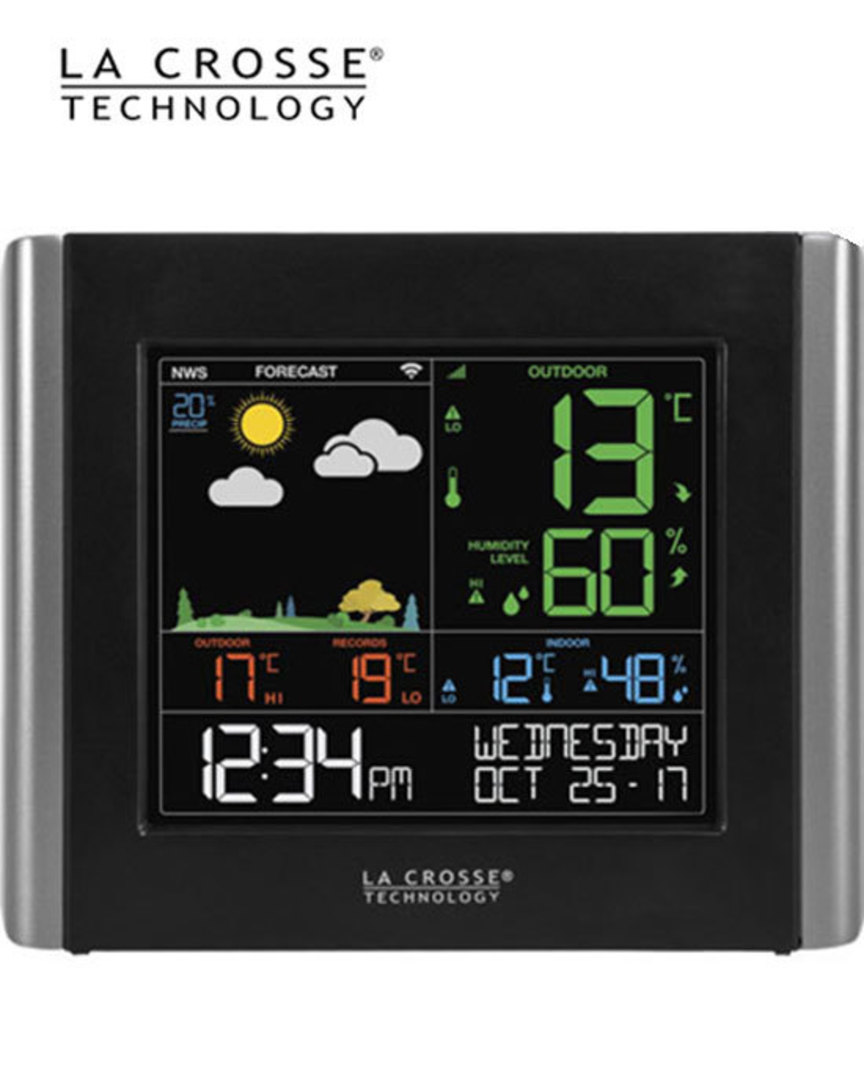 V10-TH La Crosse WiFi Colour Weather Station image 1