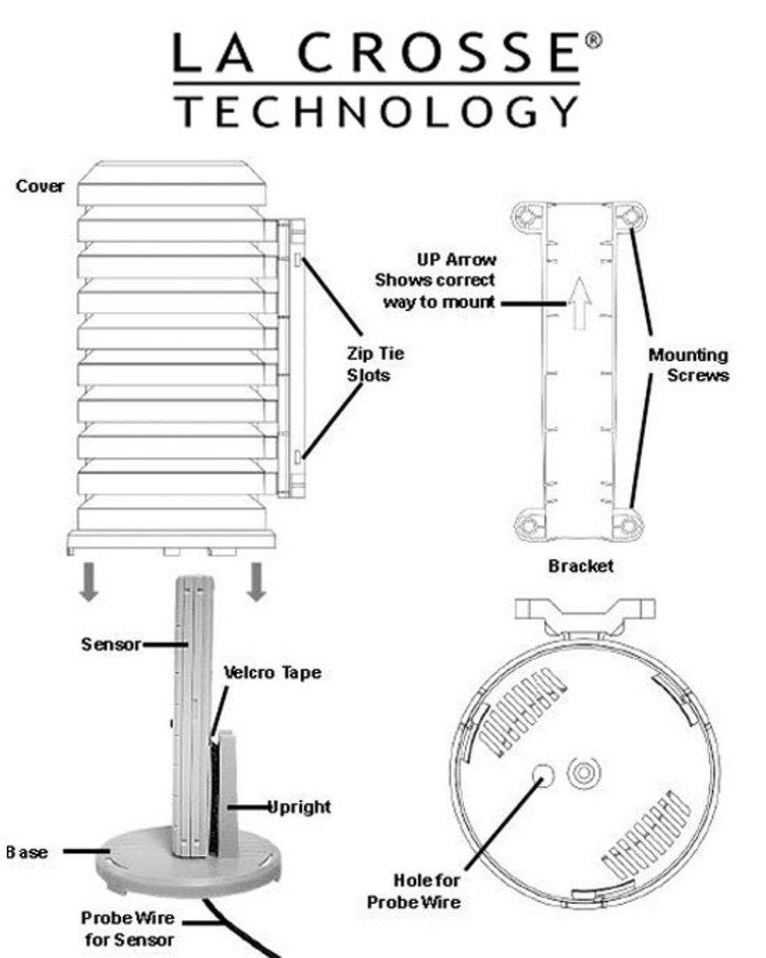 925-1418 La Crosse Sensor Weather Shield image 1