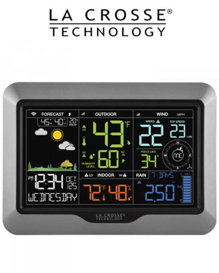 V40A-PROV2 La Crosse Professional WIFI Wireless Weather Station image 1