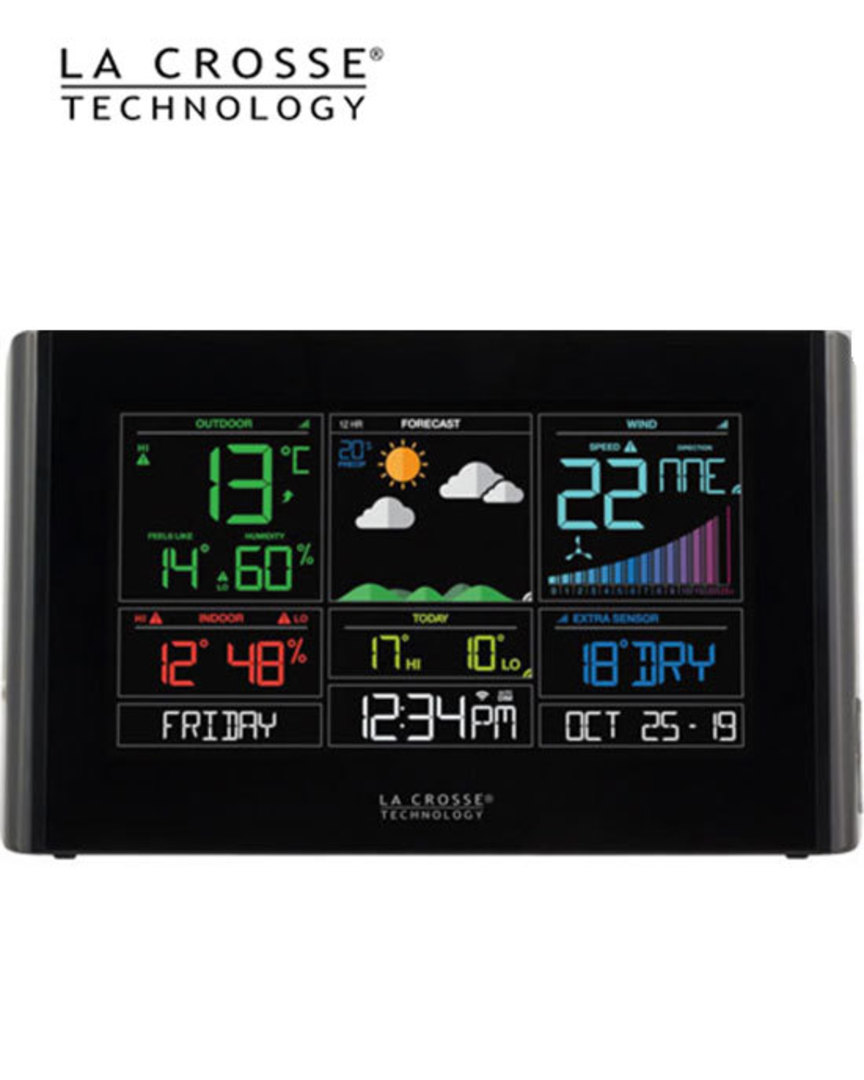 S82950 WIFI WIND WEATHER STATION ACCUWEATHER FORECAST image 1