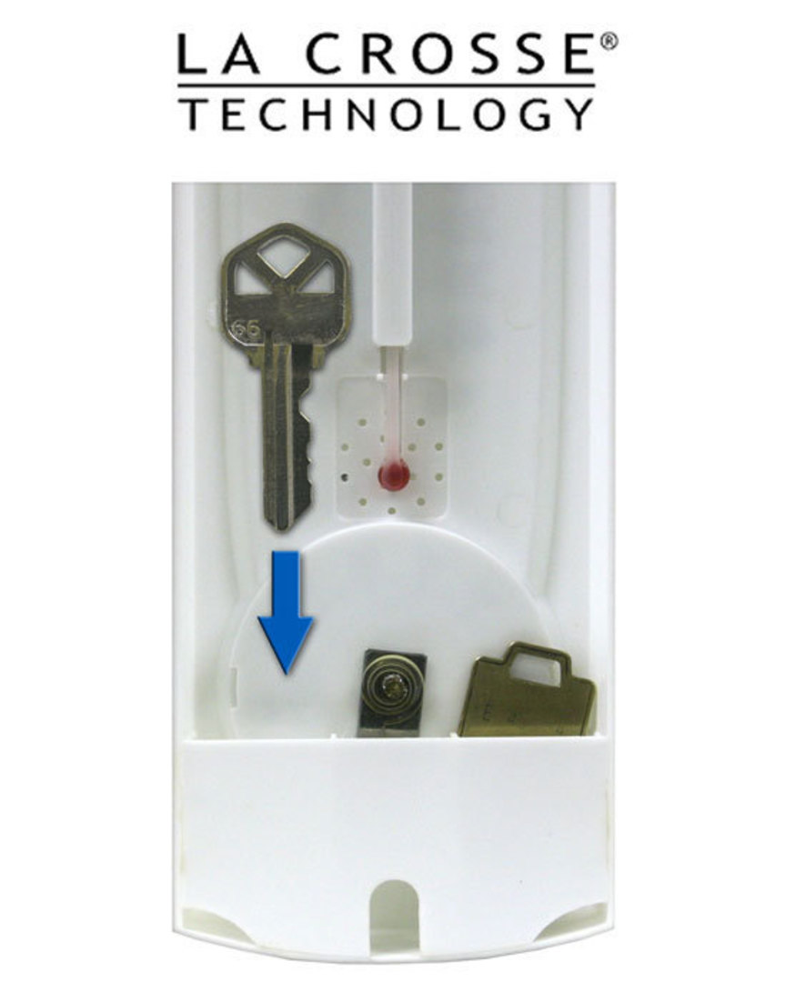 204-115 15-inch (38cm) Thermometer with Key Hider image 1