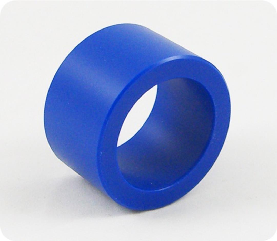 Heavy Blue Nylon Sleeve for 35mm Shaft image 0