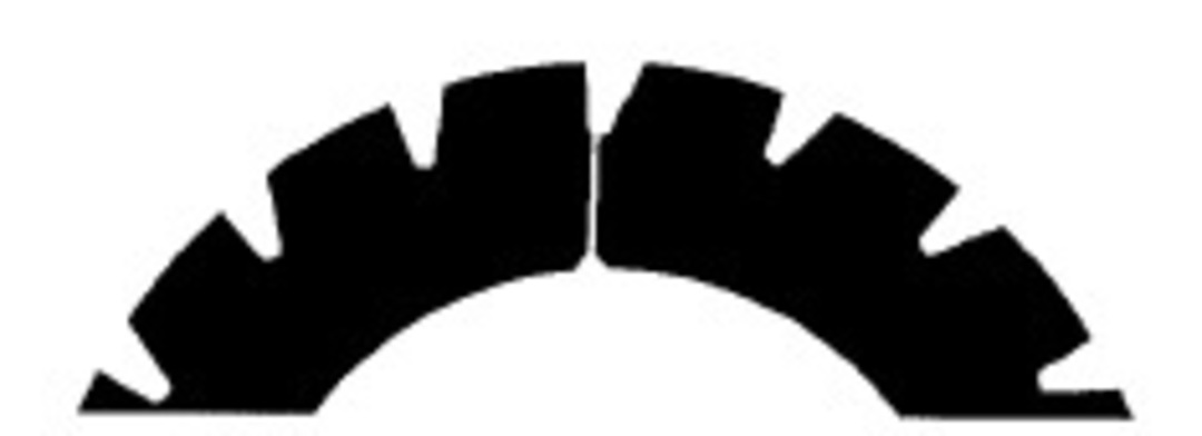 Stahl Perforator 62.0 x 40.0 x 0.5mm 18T Standard image 0
