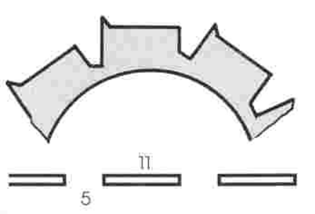 Stahl Burst Perforator 50.5 x 30.0 x 1.2mm 10T image 0