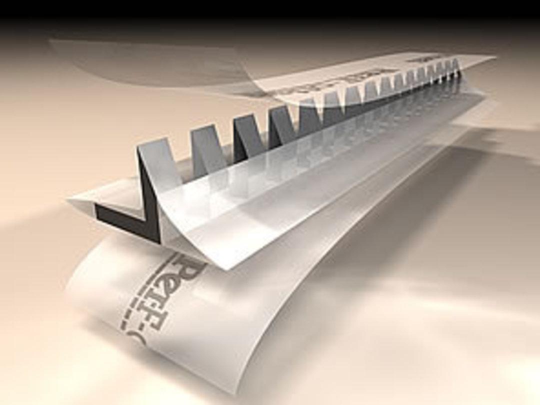 Per-F-off-set Stick On Perf 16 TPI (12.5m Roll) image 0