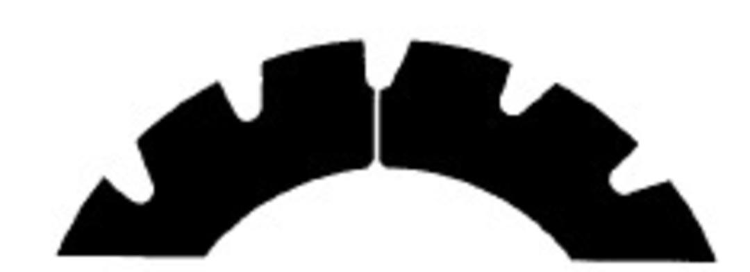 Stahl Perforator 61.5 x 40.0 x 0.5mm 15T image 0