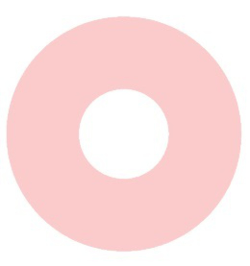 Flat Suction Disc 22.2 x 4.8 x 0.8mm Pink Rubber image 0