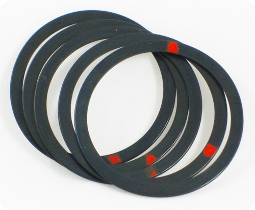 Tri-Creaser Deluxe Insert Red Dot for 25/30mm image 0