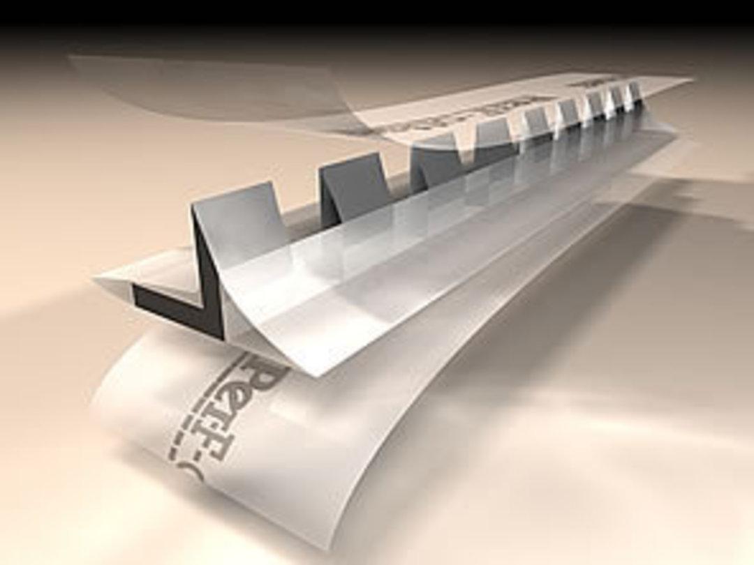 Per-F-off-set Stick On Perf 12 TPI (12.5m Roll) image 0
