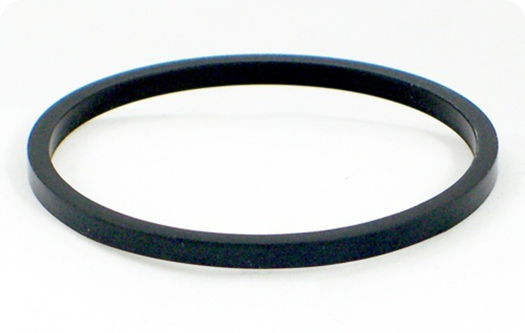 Side Guides (Black Rubber) for 25/30mm image 0