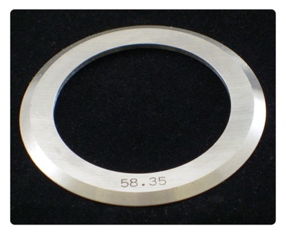 Kiss Cut Slitter 58.30mm OD for 35mm Shaft image 0
