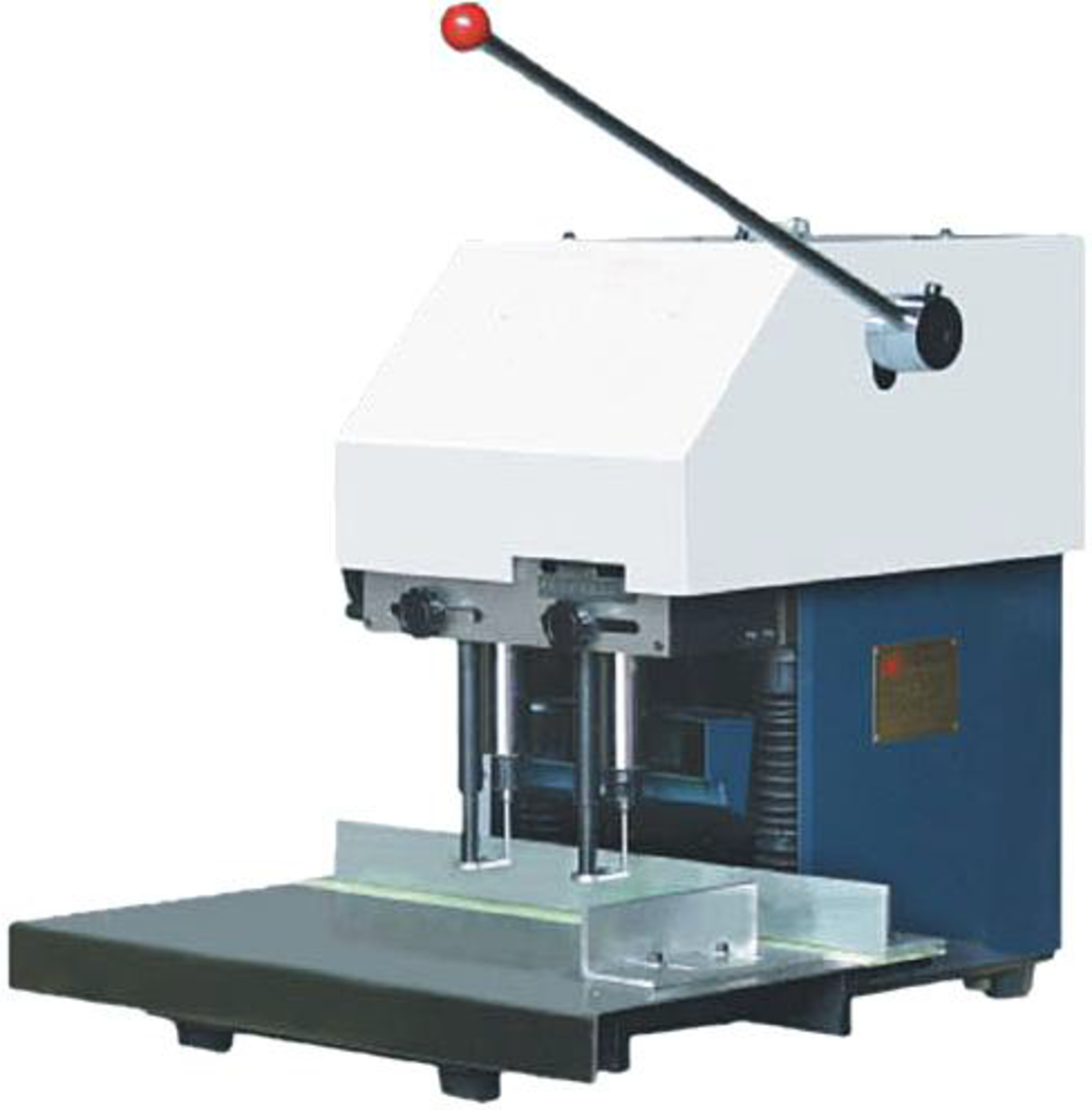 Leach Two or Three Head Paper Drilling Machine image 0