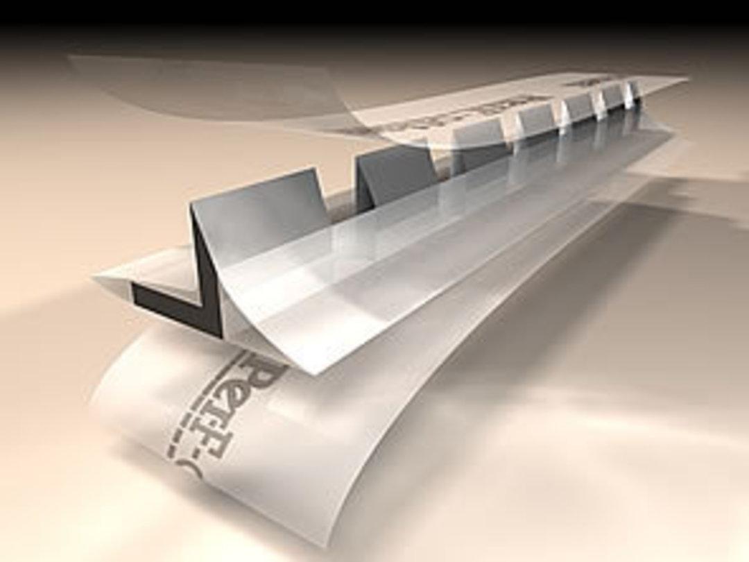 Per-F-off-set Stick On Perf 8 TPI (12.5m Roll) image 0
