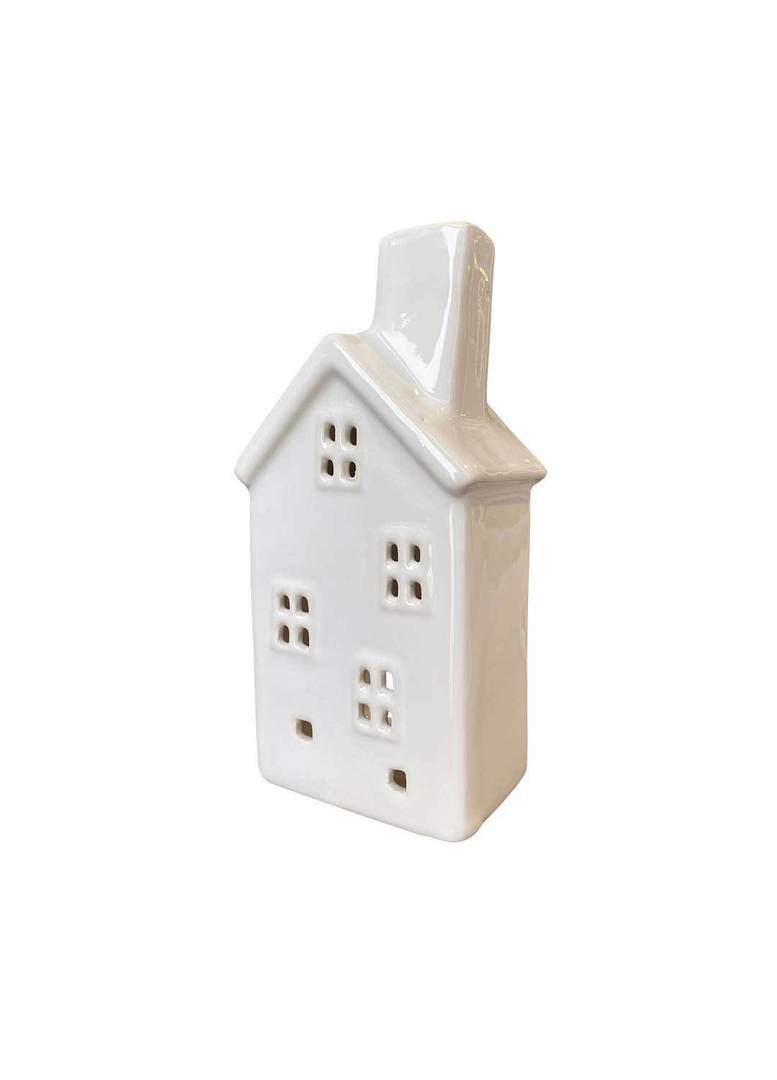 HOUSE WITH 4 WINDOWS TEALIGHT HOLDER image 1