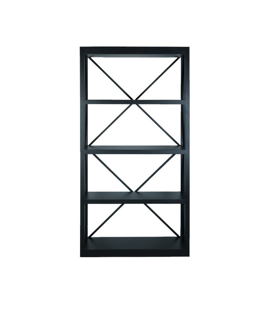LONG ISLAND BOOKCASE BLACK image 0