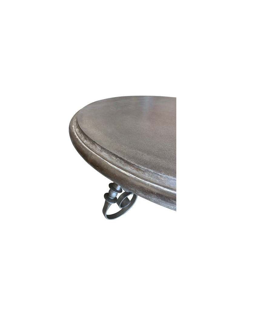 ALFRESCO DINING TABLE ROUND BASE & LEGS image 1