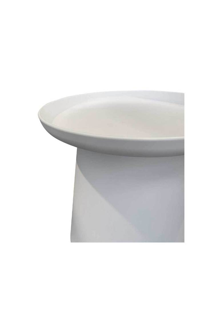 LOW ROMI SIDE TABLE WHITE image 1