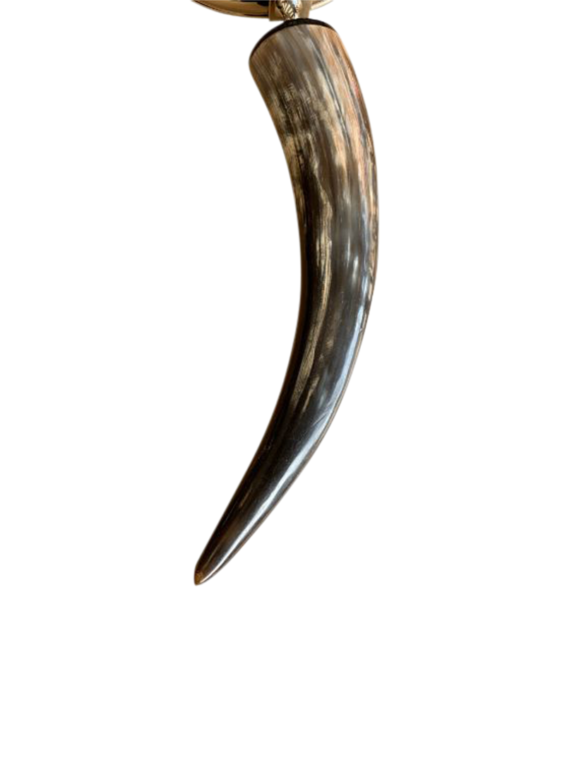LARGE HORN HANDLE MAGNIFIER image 1