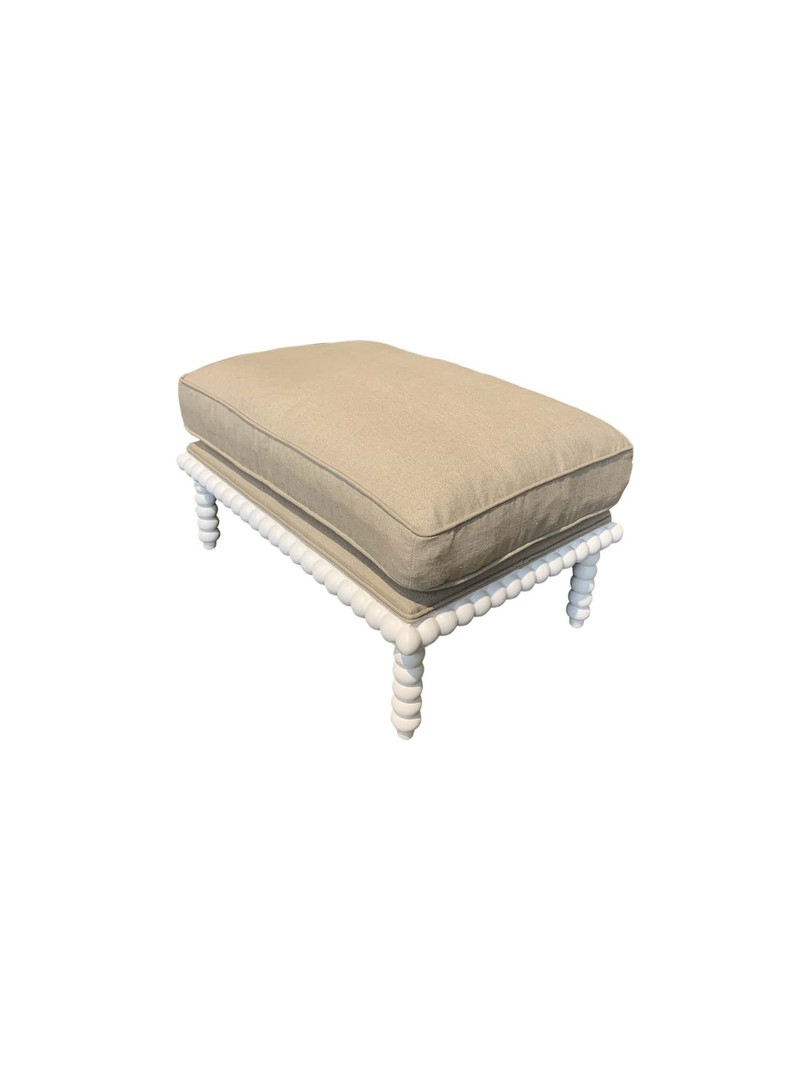 COASTAL CLASSIC OCCASIONAL FOOT STOOL image 1