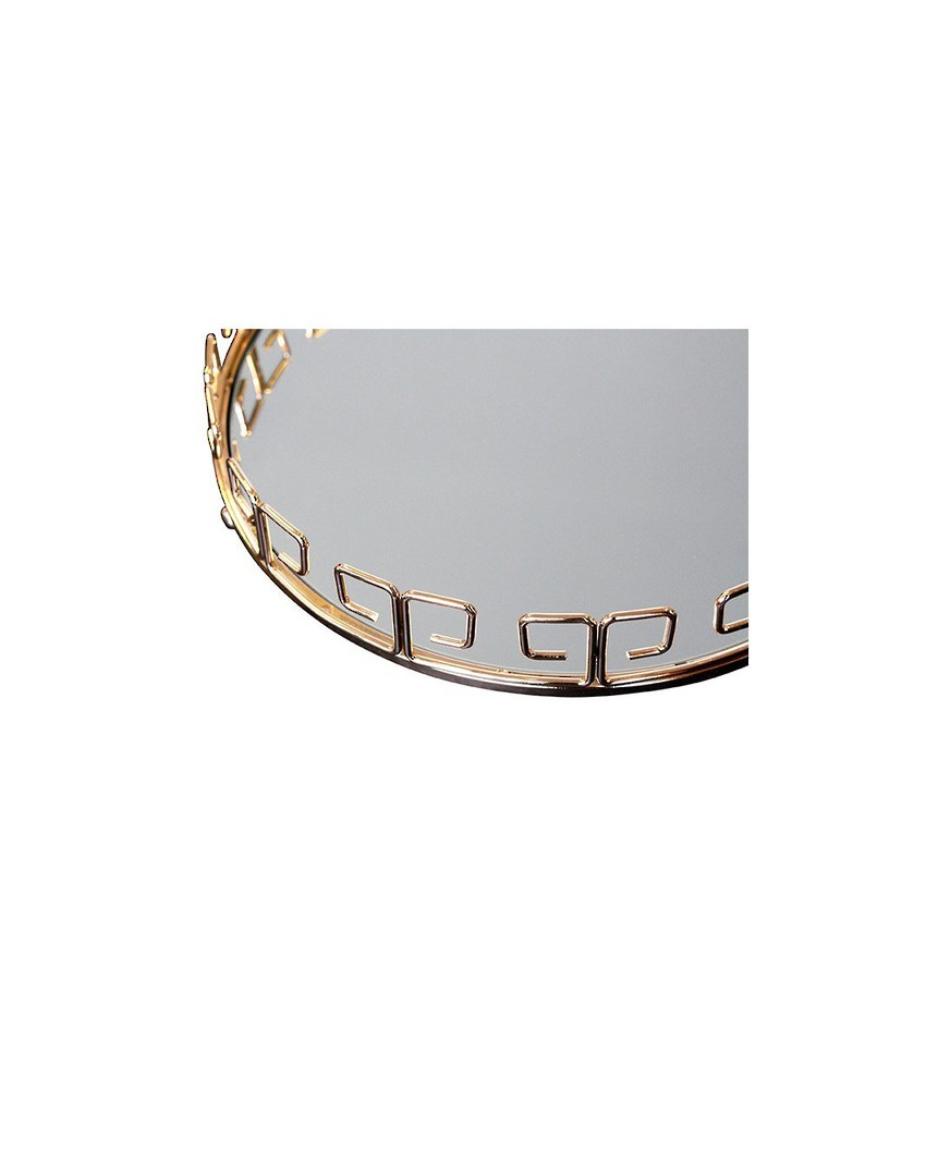 LUXE DECORATIVE TRAY ROUND image 4