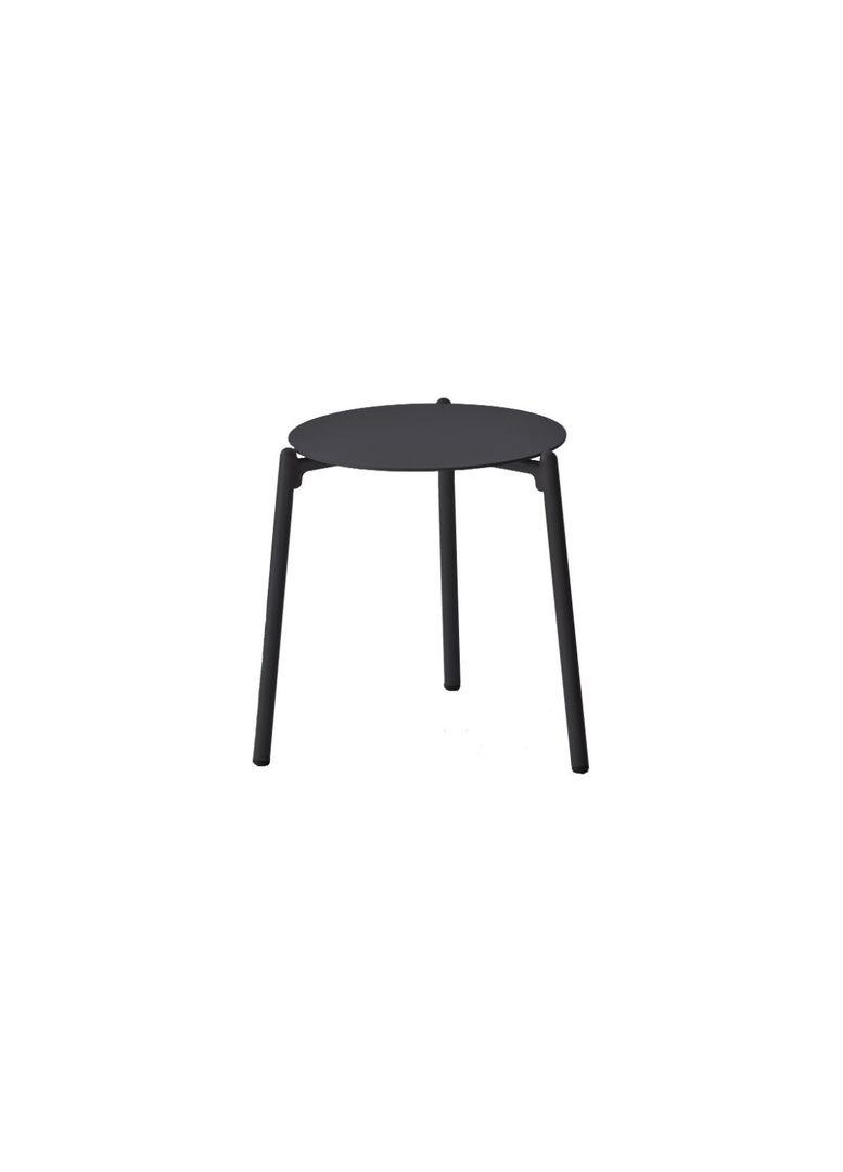 HAMPTON SIDE TABLE OUTDOOR BLACK image 0