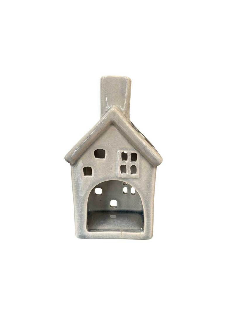 HOUSE WITH 2 WINDOWS TEALIGHT HOLDER image 3