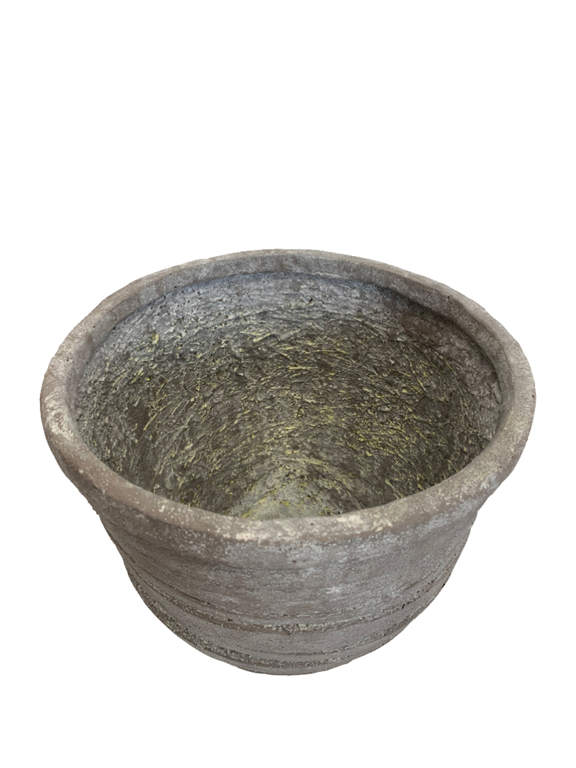 DEEP RIBBED PLANTER image 1