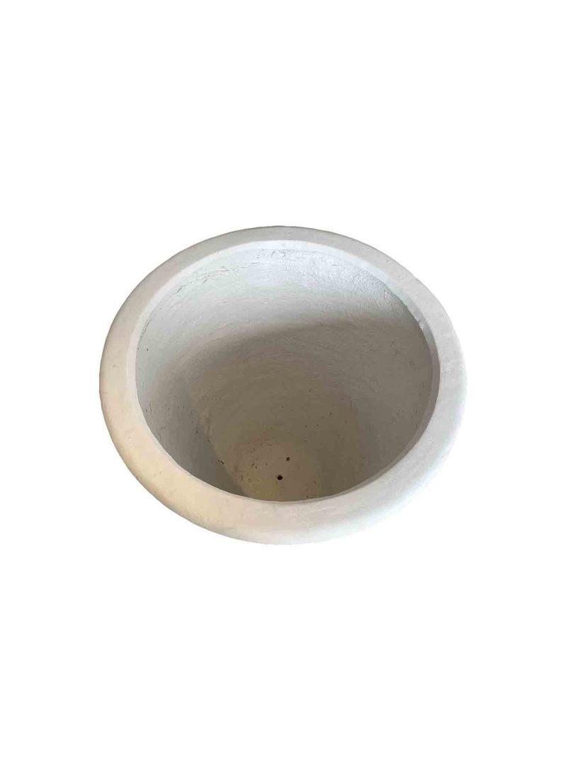 BALI PLANTER MEDIUM WHITE image 1