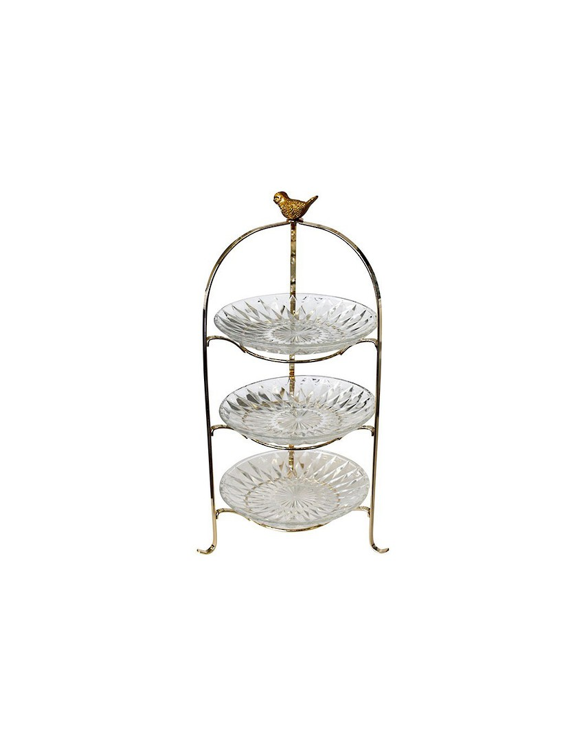 3 TIERED CAKE STAND image 0