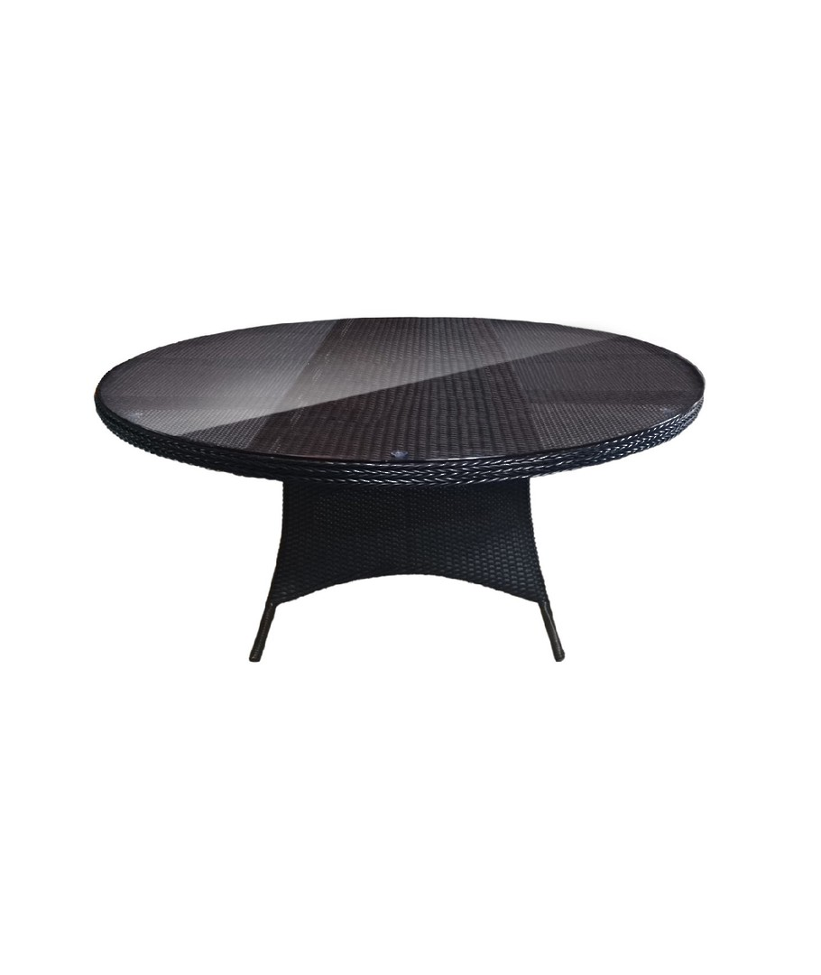 COAST ROUND WICKER DINING TABLE OUTDOOR image 0