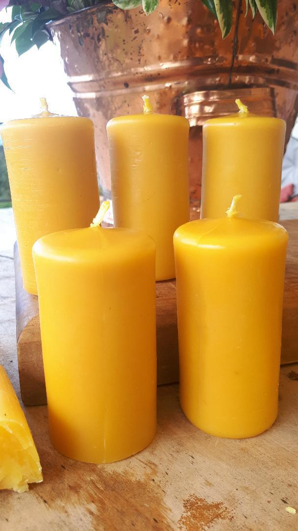 Small Pillar Candles image 0