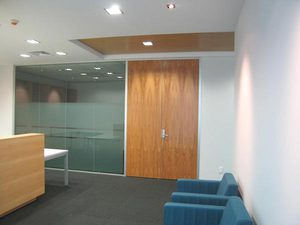 Legal Office Design Layout / Office Space Plan
