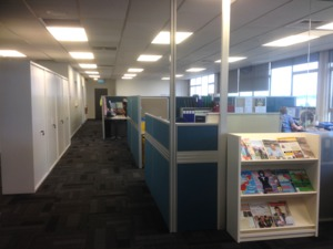 Open Plan Office Design / Commercial Interior Designer Auckland