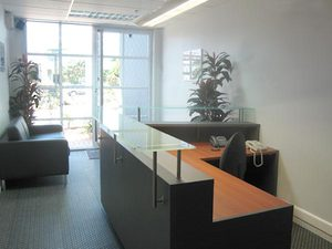 Reception Area Design / Office Planner
