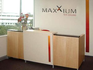 Reception desk design / Office Designer Auckland