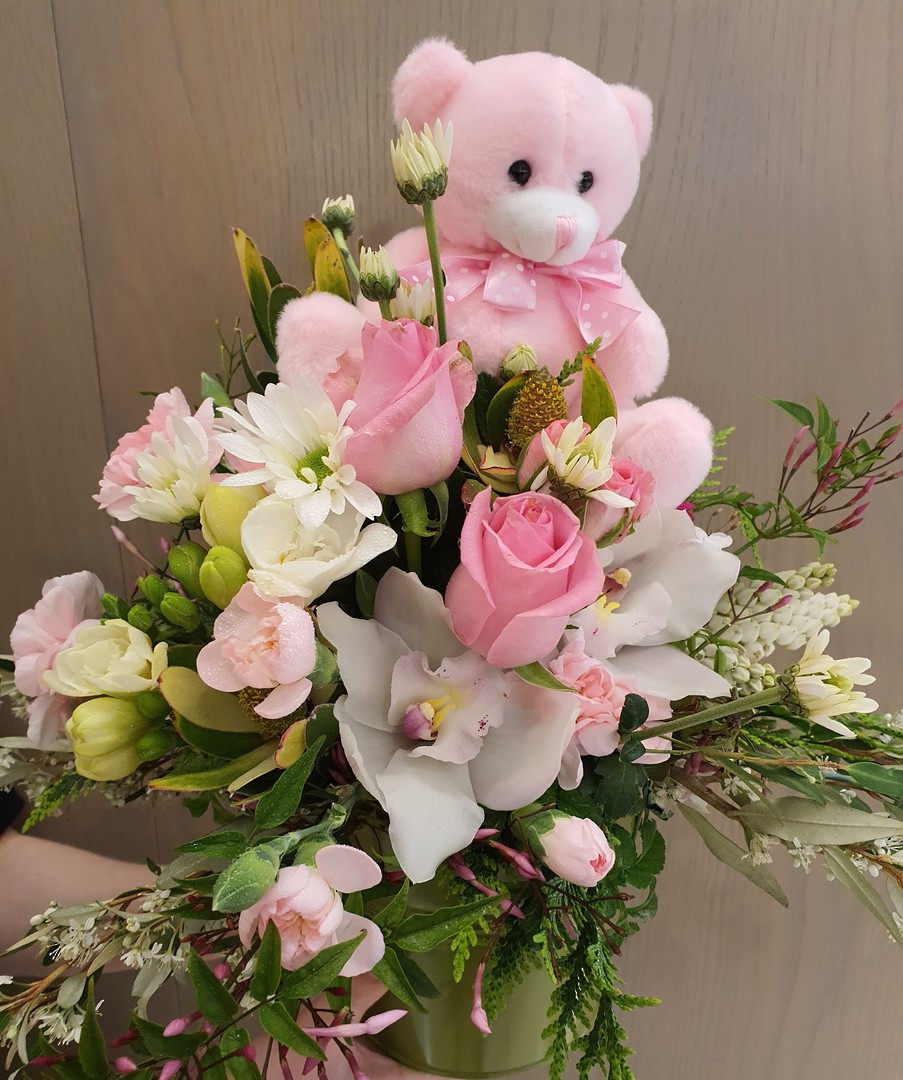 Baby Girl Arrangement image 0