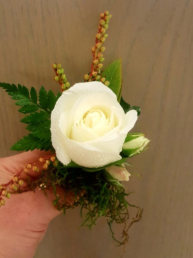 Rose Buttonhole image 0