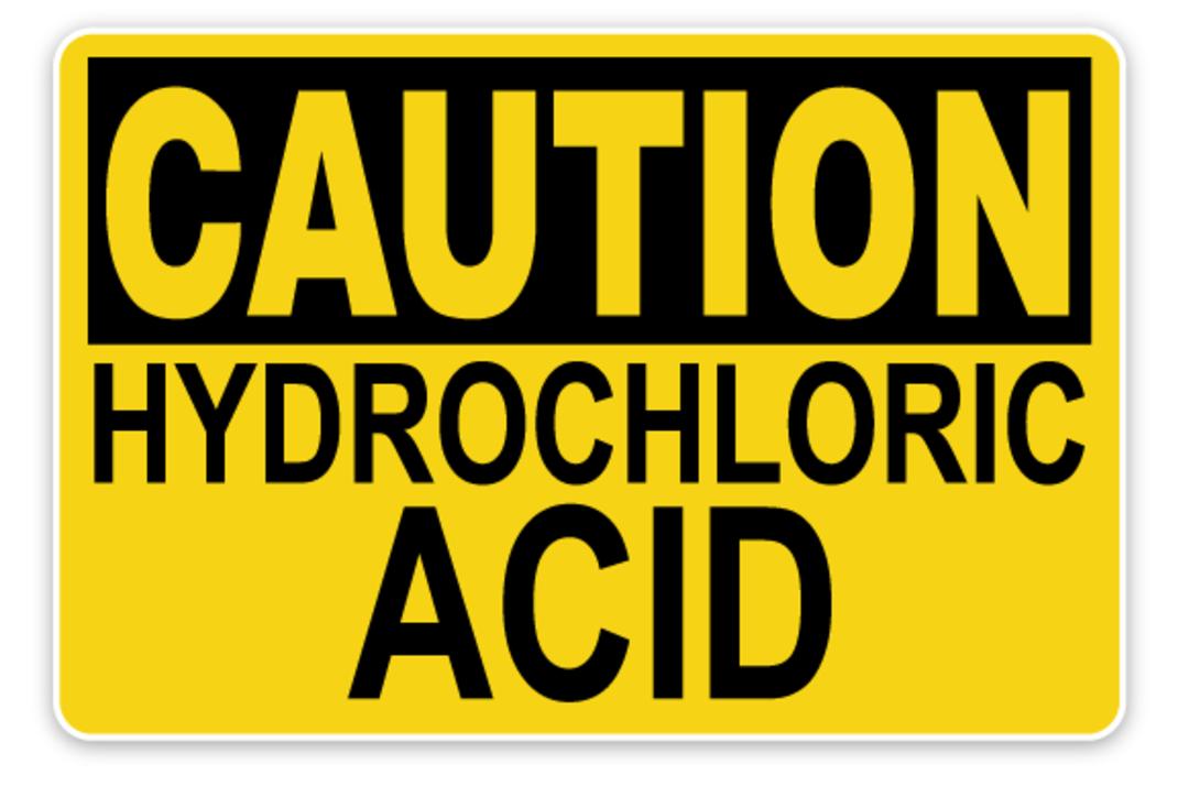 HYDROCHLORIC ACID 33% 5 LITRES image 0