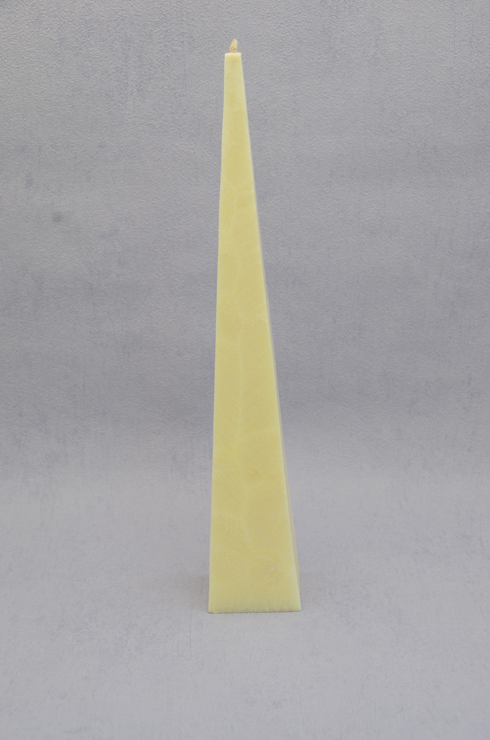 Tall, Cream, Vanilla Fragrance Pyramid image 0