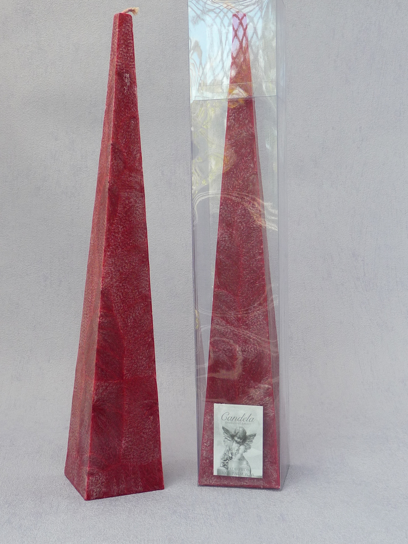 Tall, Red, Cranberry Fragrance Pyramid image 1