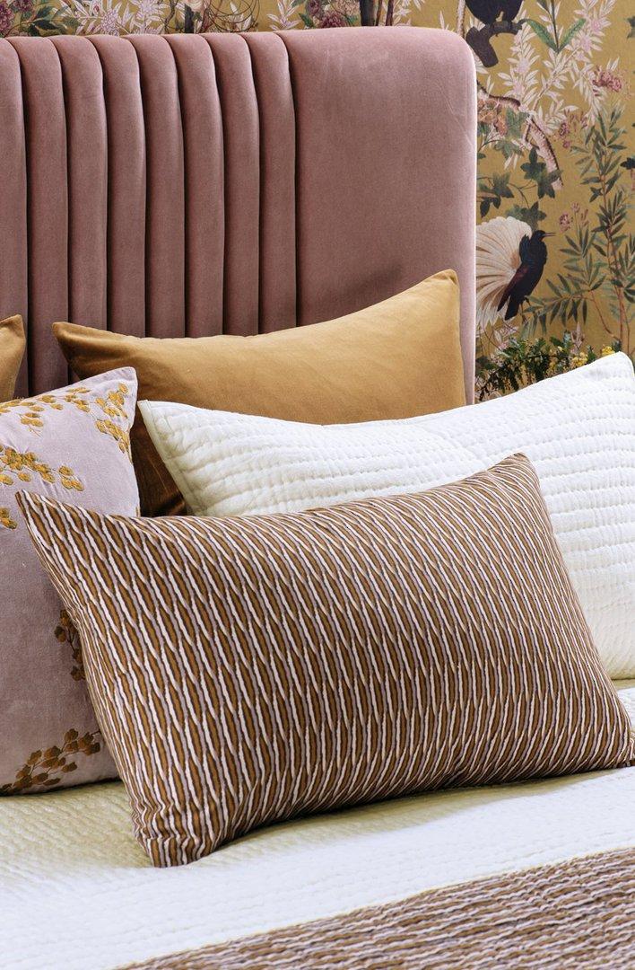 Bianca Lorenne - Kumo - Coverlet/Eurocase/Pillowcase - Rose Gold image 3