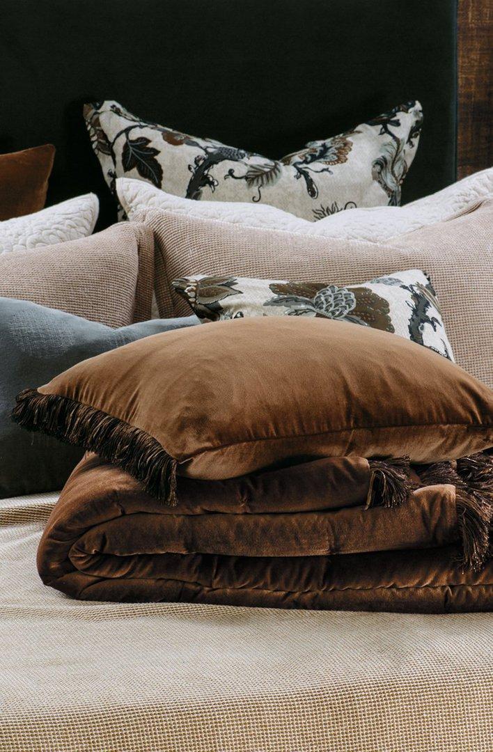 Bianca Lorenne - Tramonto Comforter/ Eurocase /Cushion - Copper image 1
