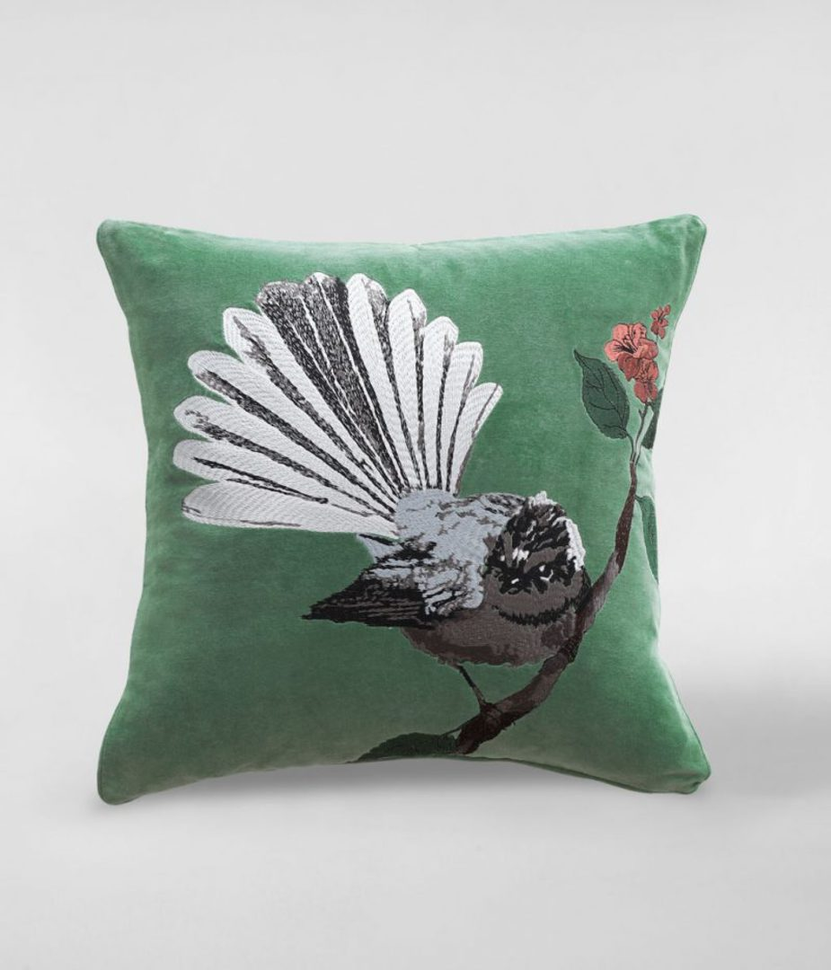 MM Linen - Fantail Cushion image 0