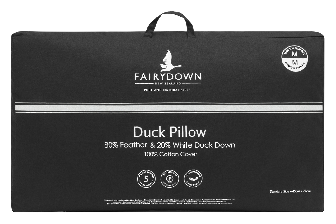 Fairydown  - Duck Feather & Down 80/20 Pillow image 1